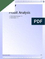 17 Probit Analysis