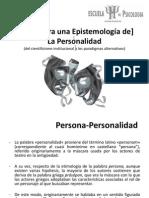[Epistemología] de la Personalidad