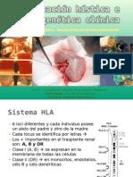 Tipificación hística e inmunogenética clínica
