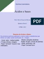 Capitulo 5 - Acidos e Bases