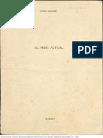 PERÚ. JORGE BASADRE.EL PERÚ ACTUAL.1955