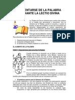 Lectio Divina Juvenil