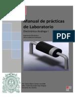 Manual de Prácticas de Laboratorio-Electronica I- UdeA 2013-1