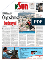 thesun 2009-10-19 page01 ong slams betrayal