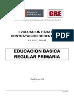 Ebr Primaria Sub Prueba 2 y 3