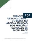 2012 Transporte Urbano - Papel Do BNDES
