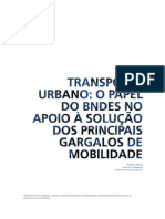 2012 Transporte Urbano - Papel Do BNDES