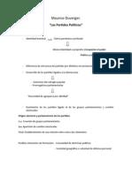 Maurice Duverger (Resumen)
