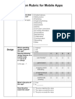 evaluationrubricformobileapps mal pdf