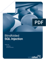 Blindfolded SQL Injection