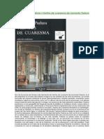 Lecturas intempestivas. Reseña de Vientos de Cuaresma, de Leonardo Padura.