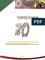 Elementos de Maquinas TransmisionPorCadenas