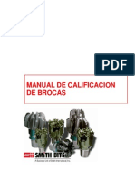 Calificacion de Brocas PDC