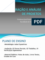 Aula 01- Programa Disc. Projetos