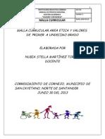 Malla Curricular Etica y Valores-nubia