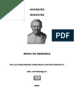 Isocrates - Mowa Do Demonika