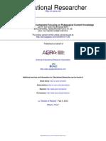 Educational Researcher 2012 Van Driel 26 8