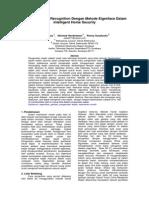 Penerapan Face Recognition Dengan Metode Eigenface Dalam Intelligent Home Security