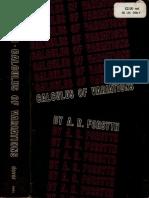 Calculus of Variations, Forsyth.pdf