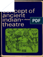 Concept of Ancient Indian Theatre - Chritopher M. Byrski