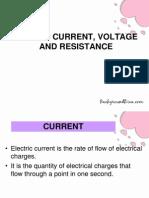 Current,Voltage&Resistance