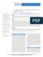 # JCO LEUKEMIA Biology, Risk Stratification, And Therapy of Pediatric Acute