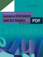 2013.10 Journal of Literature and Art Studies