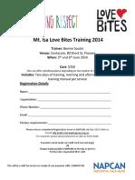 Mt Isa Love Bites Training