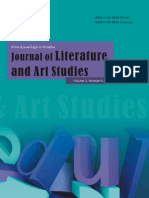 2013.5 Journal of Literature and Art Studies