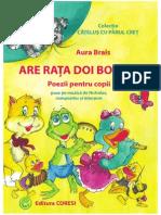 Are Rata Doi Boboci. Poezii Pentru Copii Fata -TEKKEN