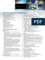 Ansys Cfx Technical Specs 13.0