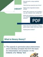 Literary Criticism Powerpoint