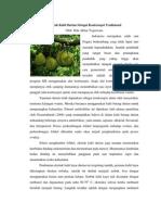 Ekstrak Kulit Kayu Durian Sebagai Kontrasepsi Sederhana