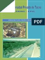 INFORME DE PRUEBA DE INFILTRACION -  IRREGACION.pdf