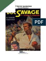Kenneth Robeson - Doc Savage 16, El terror purpúreo
