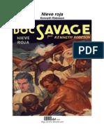 Kenneth Robeson - Doc Savage 24, Nieve Roja