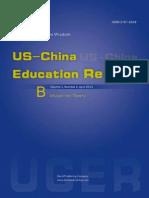 US-China Education Review 2013(4B)