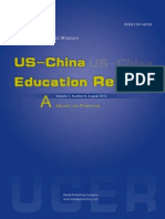US-China Education Review 2013(8A)