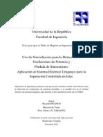 Tesisaplicacion Sincrofasores Uruguay Algoritmo Predi