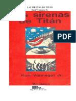 Kurt Vonnegut Jr. - Las Sirenas de Titán