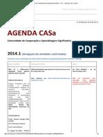 Ufc - Agenda Casa - 2014