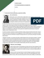 Reflexion en Torno a La Historia de La Sistematisacion de Los Elementos.