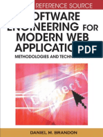 Software Engineering for Modern Web Applications