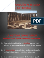 1. INTRODUCCIÓN AL ESTUDIO DE LA HISTORIA