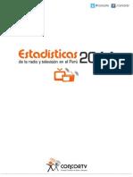 Estadísticas de Radio y Televisión del Perú - 2014