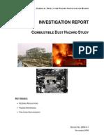 CSB Dust Study Report 6-20-08