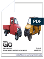 Gio Load Carrier & Passenger d+3 and d+6 2wd Rhd - Ver 4 - Jan 2011