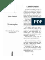 07 - Di Benedetto-El Abandono y La Pasividad