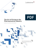 Pharma Art of Pricing