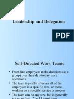 Leadership and Delegation 134